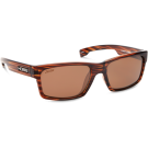 THE WEDGE SHINY BROWN WOOD GRAIN / COPPER